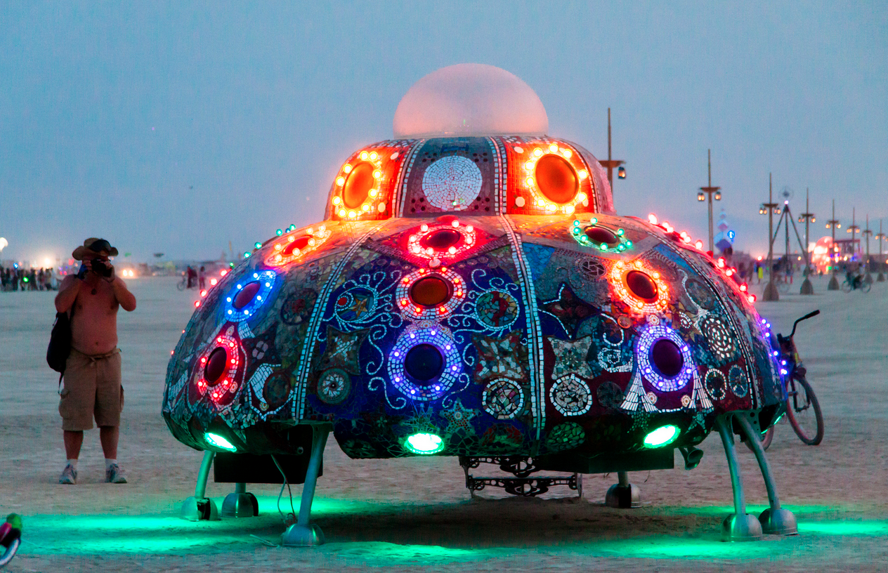 what u2019s up with the burning man project